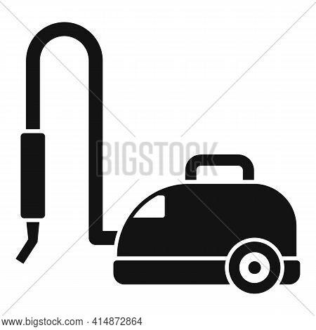 Vacuum Steam Cleaner Icon. Simple Illustration Of Vacuum Steam Cleaner Vector Icon For Web Design Is