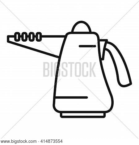 Furniture Steam Cleaner Icon. Outline Furniture Steam Cleaner Vector Icon For Web Design Isolated On