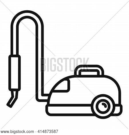 Vacuum Steam Cleaner Icon. Outline Vacuum Steam Cleaner Vector Icon For Web Design Isolated On White