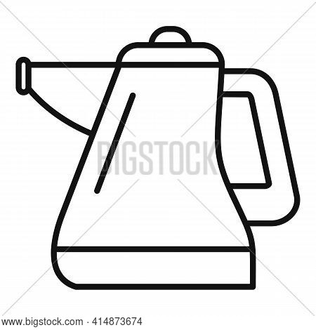 Duster Steam Cleaner Icon. Outline Duster Steam Cleaner Vector Icon For Web Design Isolated On White
