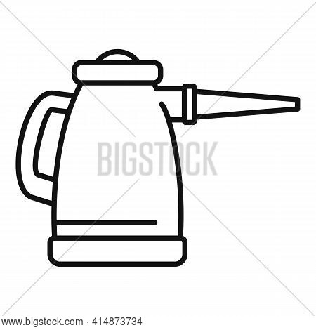 Steam Cleaner Tool Icon. Outline Steam Cleaner Tool Vector Icon For Web Design Isolated On White Bac