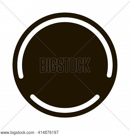 Soy Free Sign Glyph Icon Vector. Soy Free Sign Sign. Isolated Symbol Illustration