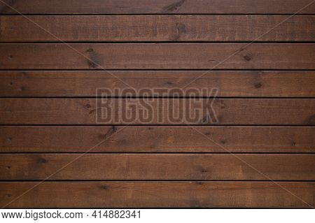 Shabby Wooden Wall Background. Obsolete Carpentry Boards, Panel. Surface Of Wooden Texture For Desig