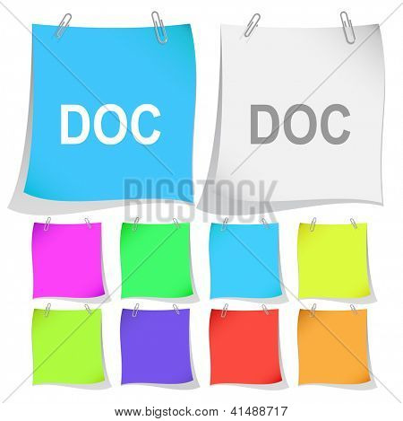 Doc. Raster note papers.