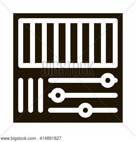 Rgb Color Glyph Icon Vector. Rgb Color Sign. Isolated Symbol Illustration