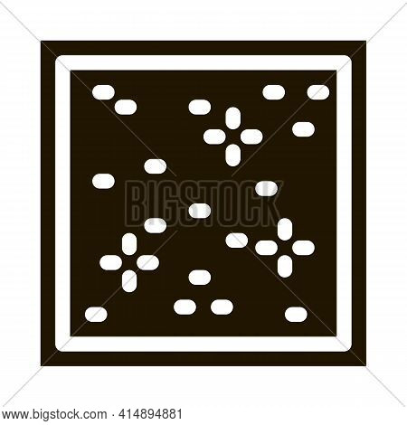 Star Sky Stretch Ceiling Glyph Icon Vector. Star Sky Stretch Ceiling Sign. Isolated Symbol Illustrat