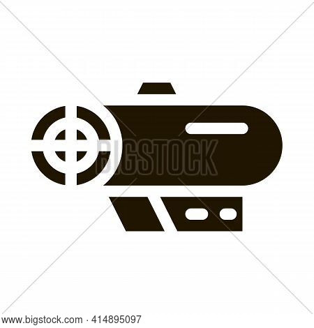 Fan Electronic Equipment Glyph Icon Vector. Fan Electronic Equipment Sign. Isolated Symbol Illustrat