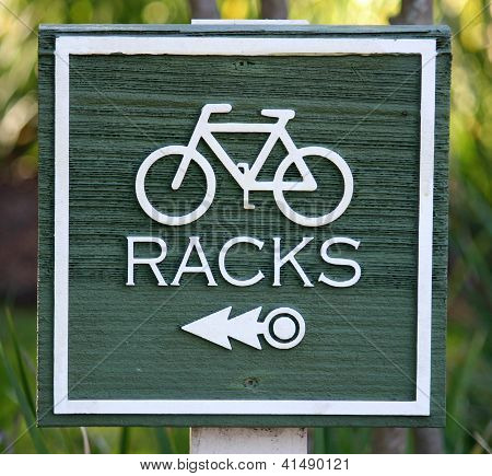 Racks Sign