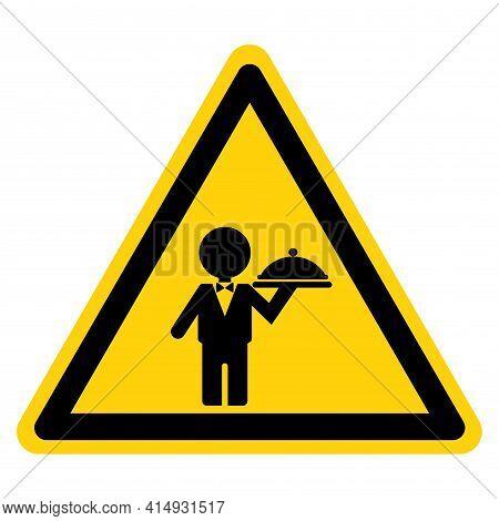 Kitchen Service Symbol Sign,vector Illustration, Isolate On White Background Label. Eps10