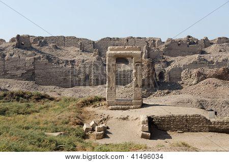 Dendera Temple complex walls, Egypt