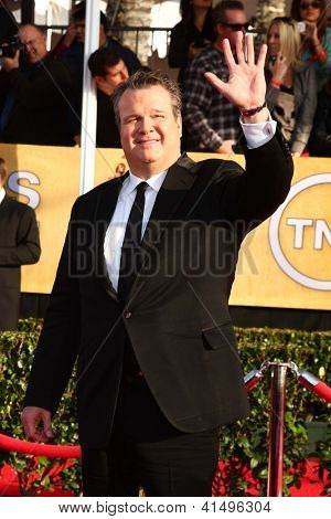 LOS ANGELES - JAN 27:  Eric Stonestreet arrives at the 2013 Screen Actor's Guild Awards at the Shrine Auditorium on January 27, 2013 in Los Angeles, CA