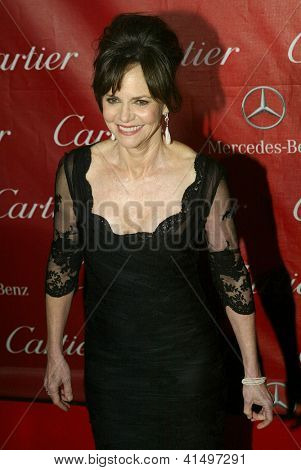 PALM SPRINGS, CA - JAN 5: Sally Field arrives at the 2013 Palm Springs International Film Festival's Awards Gala at the Palm Springs Convention Center on Saturday, January 5, 2013 in Palm Springs, CA.