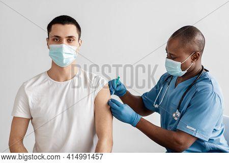 Antivirus Program For Population Against Covid-19 Outbreak, Vaccination Campaign