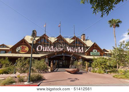 Bass Pro Shop At The Silverton Hotel In Las Vegas, Nv On August 20, 2013