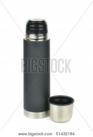 An unbreakable thermos flask