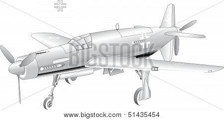 Do335-Pfeil blank model