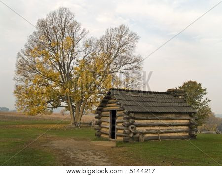 Hut, Valley Forge