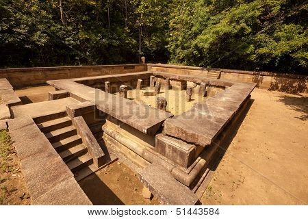 Remains Of Ritigala - Ancient Sri Lankan City That Was Lost In Jungles