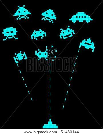 Battle With Space Invaders