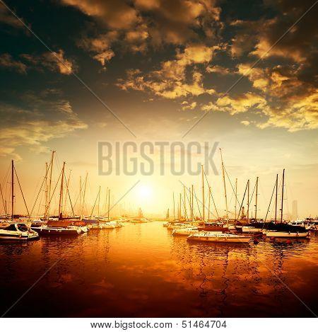 Yachts And Marina