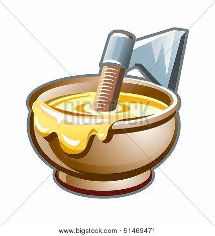Porridge from an ax. Based on Russian folk tales