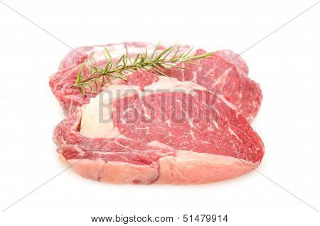 Two Entrecote Beef Steak