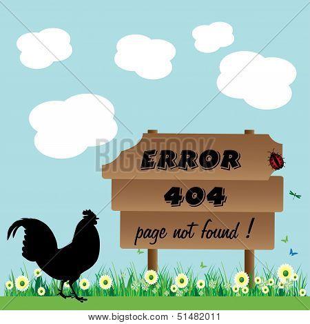 Error page not found