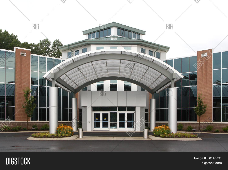 modern office exterior. Modern Office Or Medical Building Exterior