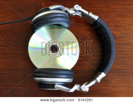 Headphones And Disk