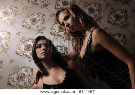 Two Beautiful Girls. Low Key