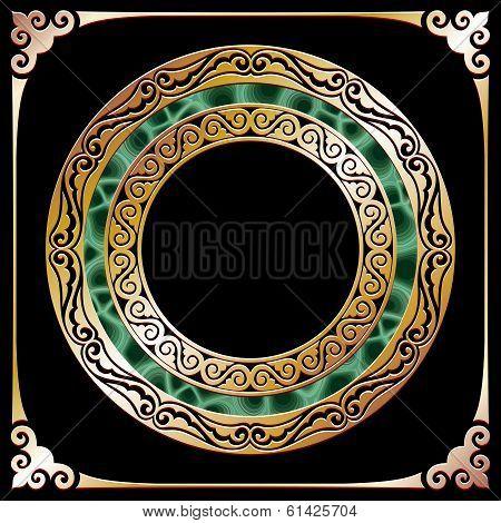 golden circle frame