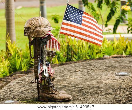 25th Infantry Division Memorial, Oahu, Hawaii.