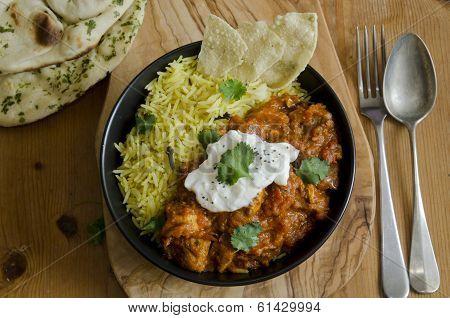 Jalfrezi With Rice