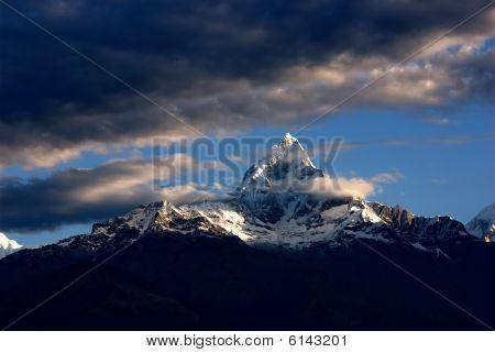 macchapucchare peak of nepal