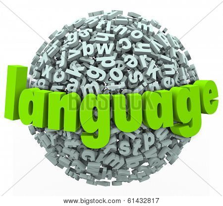 Language Word Letter Sphere Dialect Diversity