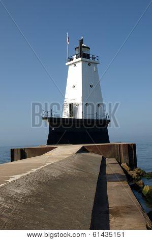 Lundington Lighthouse Early Morning