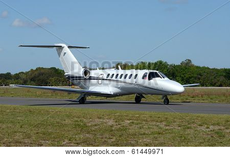 Corporate Jet Airpplane