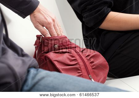 Slipping Into A Bag
