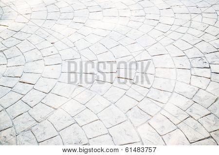 Exterior Brick Footpath Texture Background