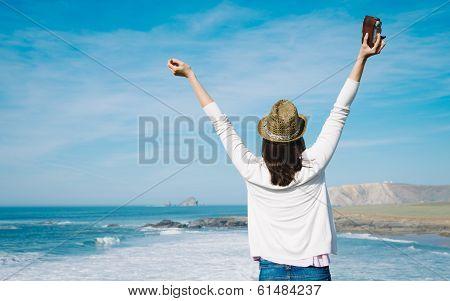 Female Photographer Travel And Freedom