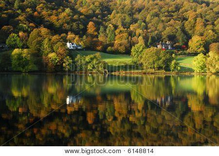 Grasmere autumn reflections