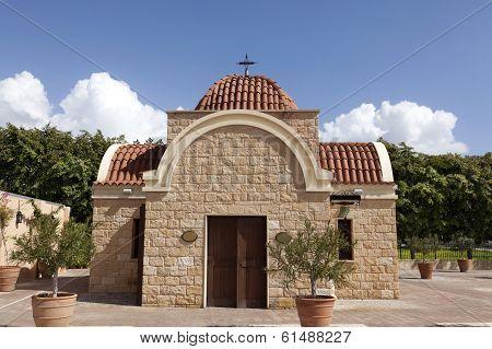 Small private chapel.