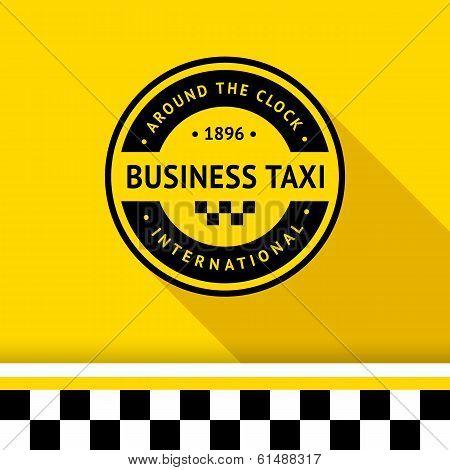 Taxi badge