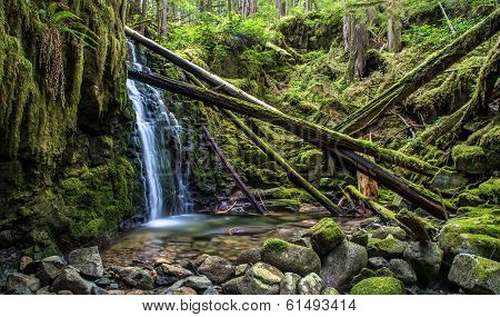 Beautiful Waterfall British Columbia