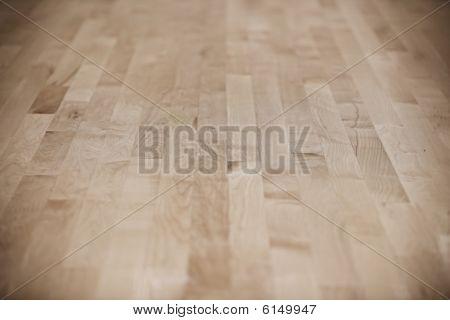 Basketball Court (wood Floor)