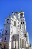 Bell tower of Ivan the Great. Moscow Kremlin, Russia poster