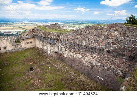 Castle Pusty hrad at Slovakia