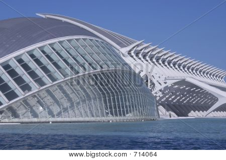 City Of The Arts And Sciences (hemisferic And Museum) Of Valence