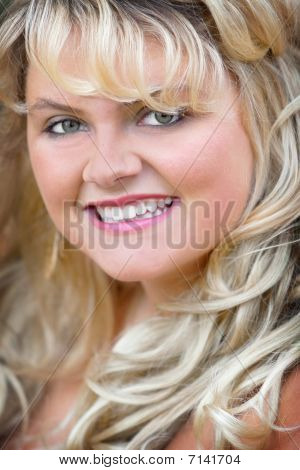 Blonde Headshot