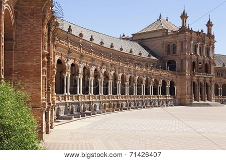 Arches In Spain Square